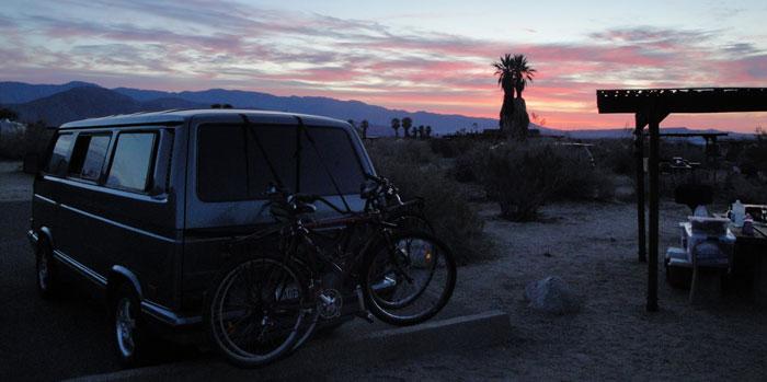borrego springs sunset
