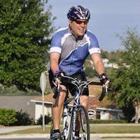 Freddie the biker