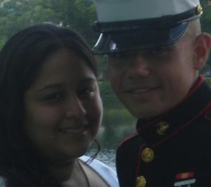 Gracie with husband