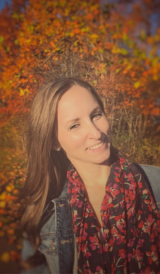 Natalie with some fall colors!