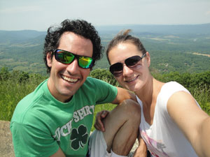 Michaela and I summer 2013, nearly 5 years after being diagnosed.