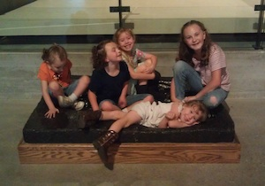 Four of those beautiful girls are mine.  Rose is the one on the right.